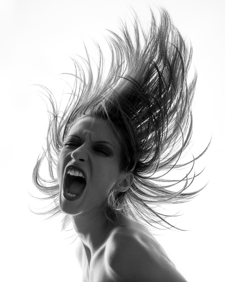 The Scream by alindinu - Her In The Studio Photo Contest