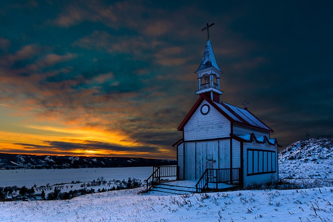 Winter Skies by hartmanc10 - Image Of The Month Photo Contest Vol 18