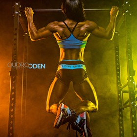 Pro Figure competitor Tanya  Shot in Dallas at Urban Grit Gym