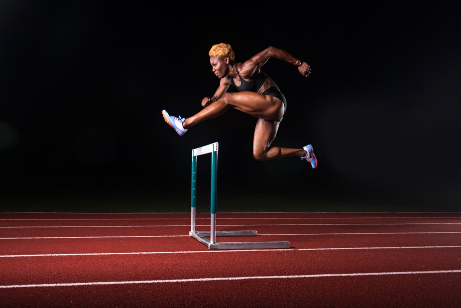 Deborah John is a track and field athlete from Trinidad and Tobago. This was shot in Dallas.  I g...