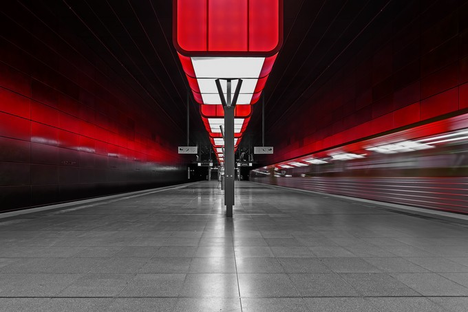Lopsided by ewill - Public Transport Hubs Photo Contest