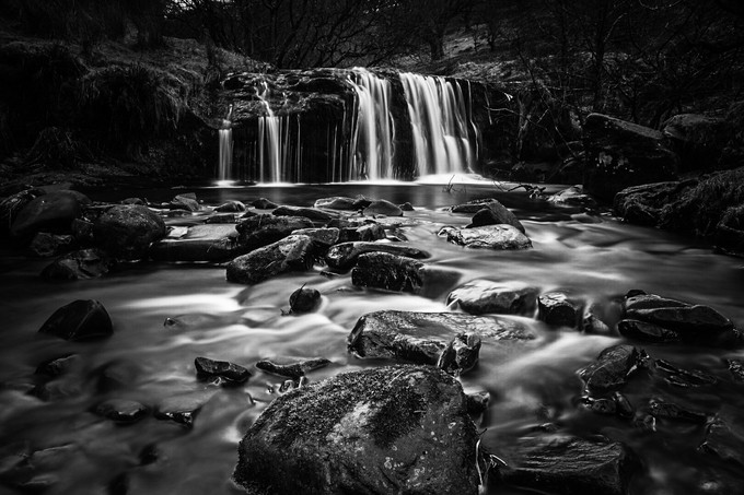 Blaen-y-glyn  by Paul_blakeway_images - The Water In Black And White Photo Contest