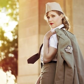 World War II rememberence shoot