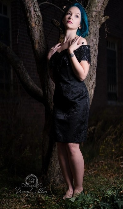 Outdoor Gothic Photo Shoot | Model | Chloe