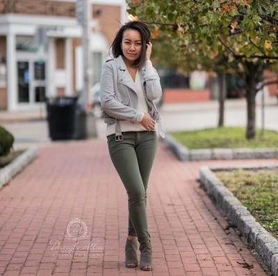 Outdoor Street Fashion Photo Shoot | Model | Linda