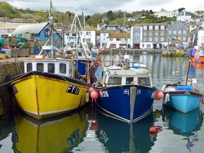 Fishing Boats - Mevagissey