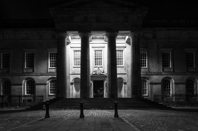 Greenock Customhouse Building by gogosviewbug - Black And White Architecture Photo Contest