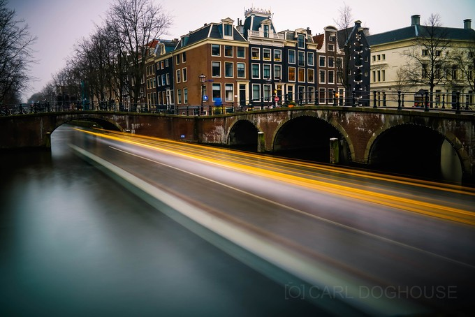 SPEEDING IN AMSTERDAM by carl_doghouse - Canals Photo Contest