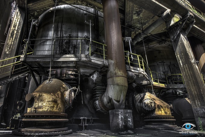 Haut Fourneau - Abandoned Industrial Factory by karlsmits - Industry Photo Contest