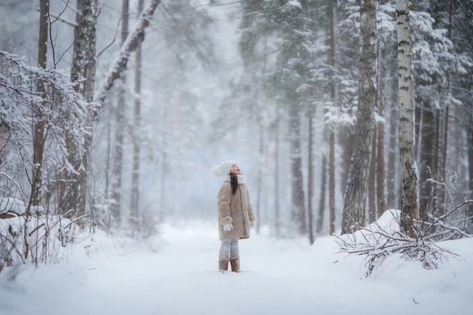 Winter magic by juliadurova - Isolated Photo Contest