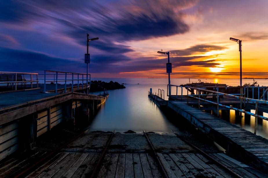 Williamstown sunset