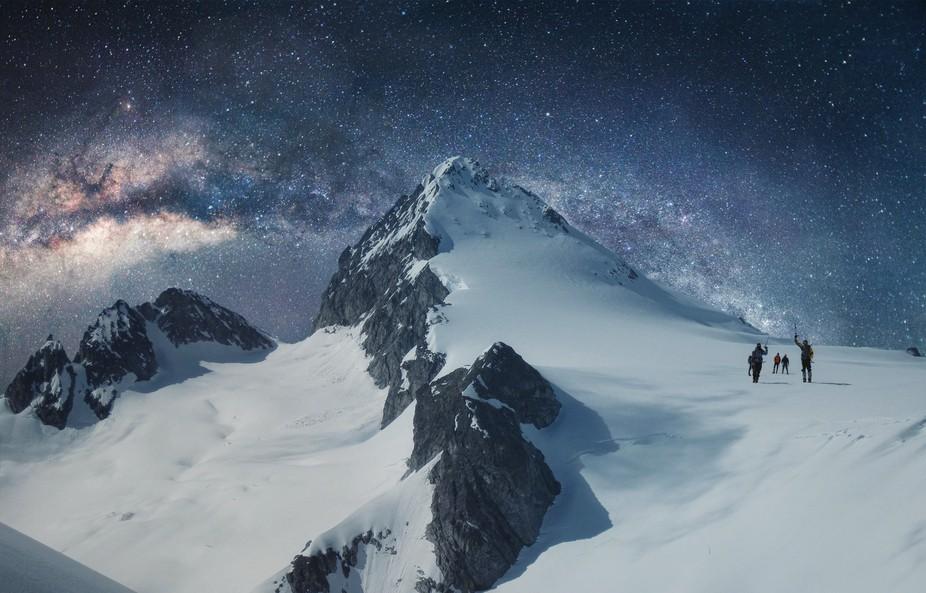 Milky Way Mountain