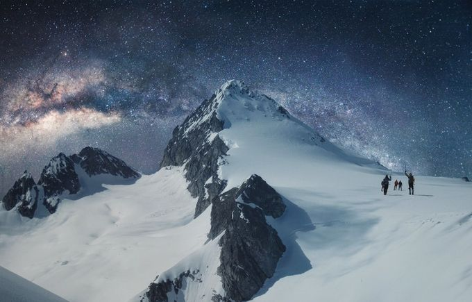 Milky Way Mountain by JanStaes - Image Of The Month Photo Contest Vol 18