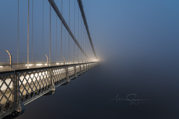 Bridge To Unknown by artursomerset - Bridges In The Night Photo Contest