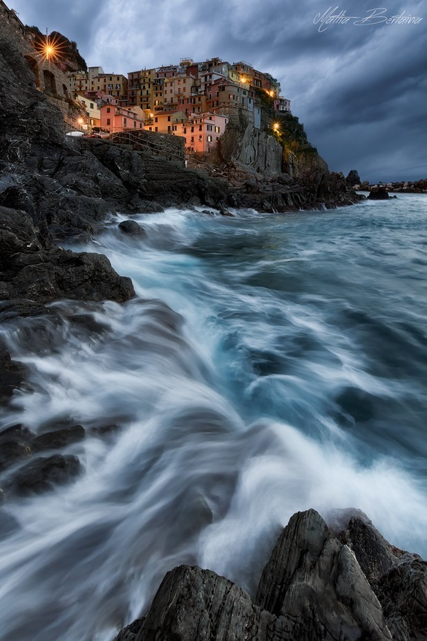 Stormy Manarola by Mattia_Bertaina - Iconic Places and Things Photo Contest