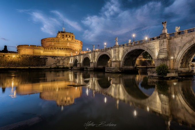 Castel Sant'Angelo by Mattia_Bertaina - Architecture And Reflections Photo Contest