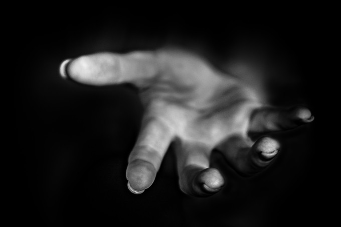 Reaching by MatW - Shooting Hands Photo Contest
