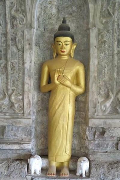 Buddha, Shitthaung Temple