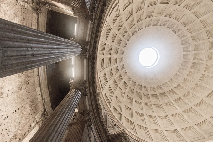 Pantheon by DonnadaYetta - High Ceilings Photo Contest