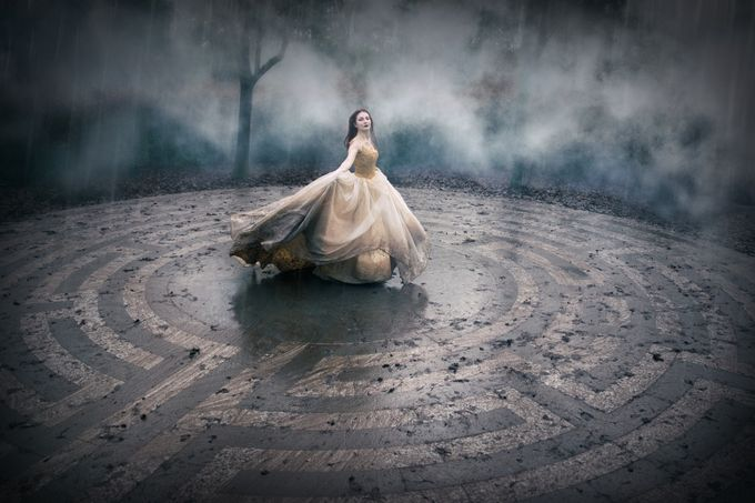 Labyrinth by CarriAngel - Rain Photo Contest