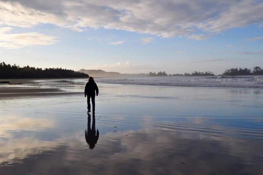 Mirror mirror on the shore.....