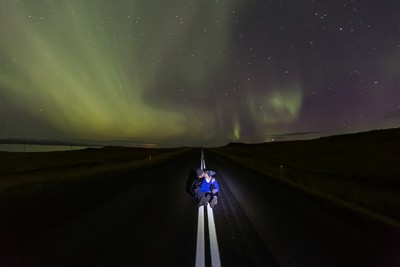 Northern Lights Portrait
