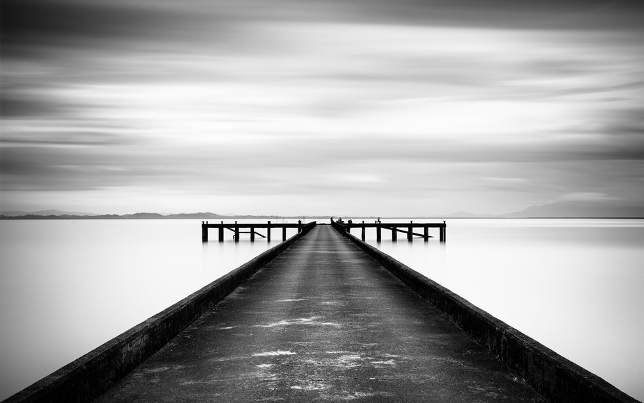 Long exposure of a jetty on Koh Chang, Thailand