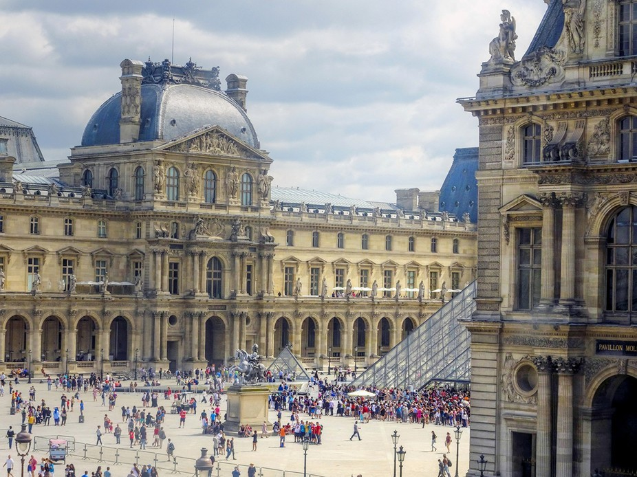 "The Louvre (1), Paris - The ""France"" Collection"
