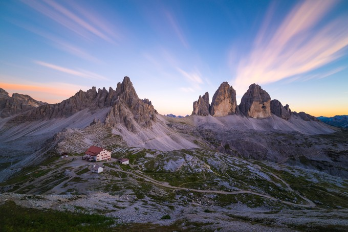 Rifugio A. Locatelli by ZigaRadsel - Rugged Landscapes Photo Contest