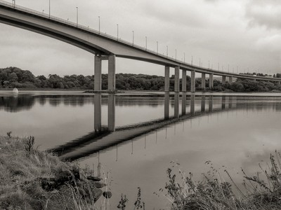 Foyle bridge Derry Ireland
