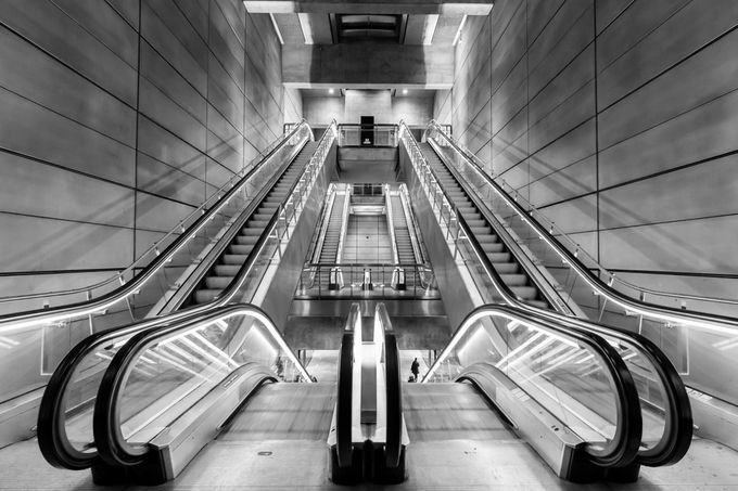 Metro station by Kamstrup - Metro Stations Photo Contest