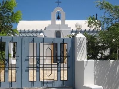 Small church in Rhodos.