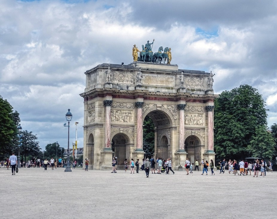 """Arc Du Carrousel, The Louvre (3), Paris  - The """"France"""" Collection"""