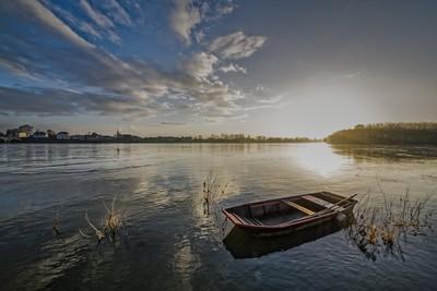Sundown on The Loire