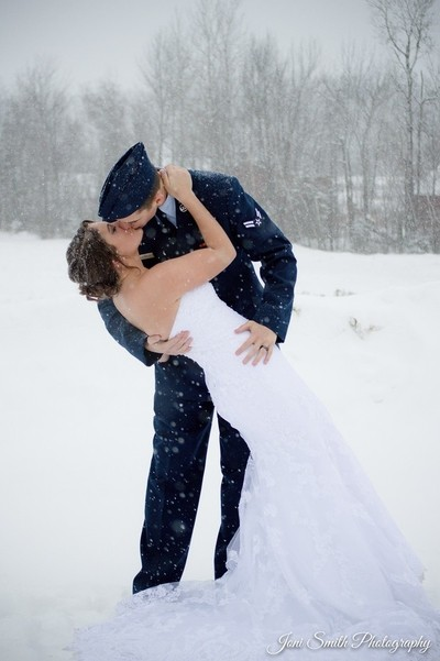 Winter Storm Wedding