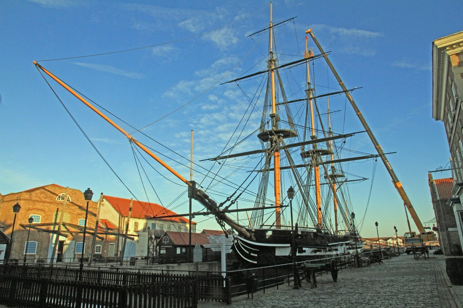 My friend and I Ruth Smith visited this historic ship on 29 November 2016. HMS Trincomalee of 181...