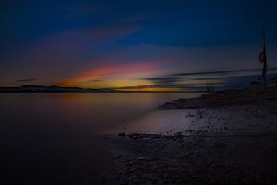 14th January 17 long exp sunset