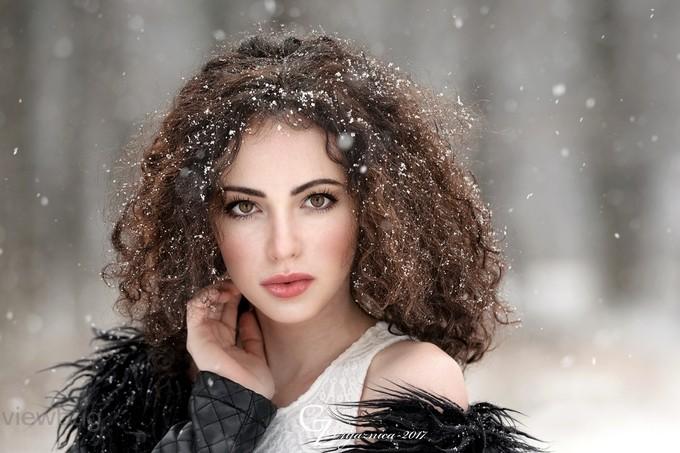 When it snows by Prijaznica - Portraits With Depth Photo Contest