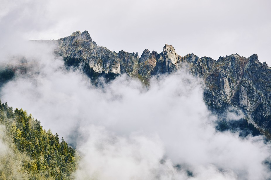 I travelled to Chamonix, French Alps for some climbing on the mountains but on the first day we h...