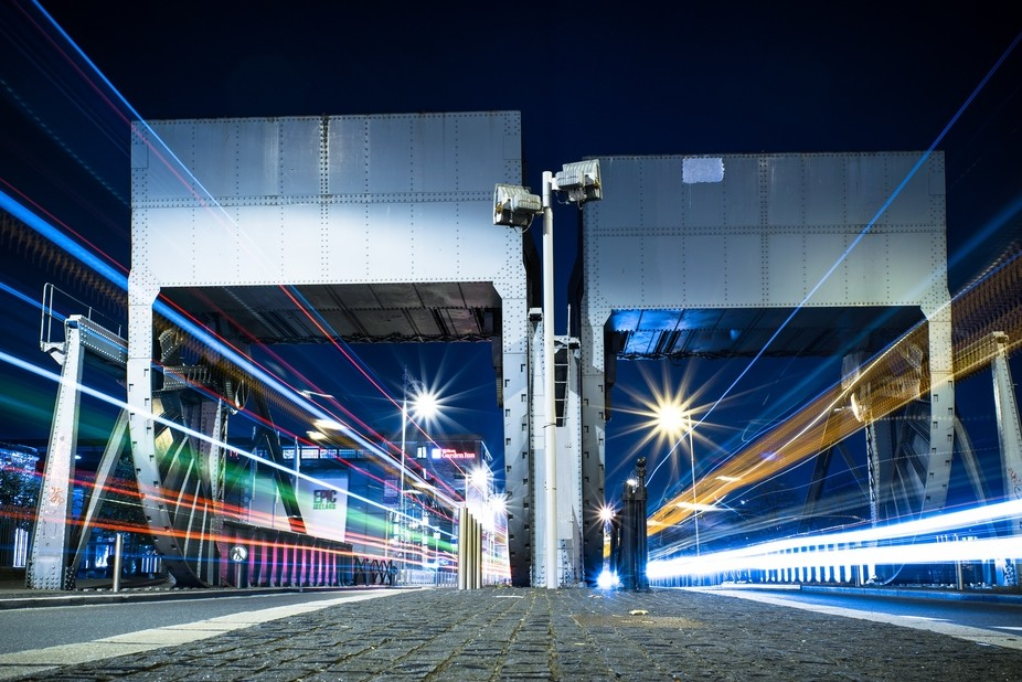 I went for a walk at night in dublin to take some longexpose shots when I found this spot. It was...