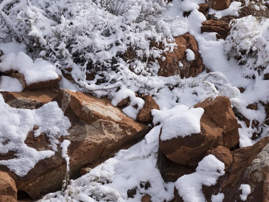 Winter In the high desert of Arizona