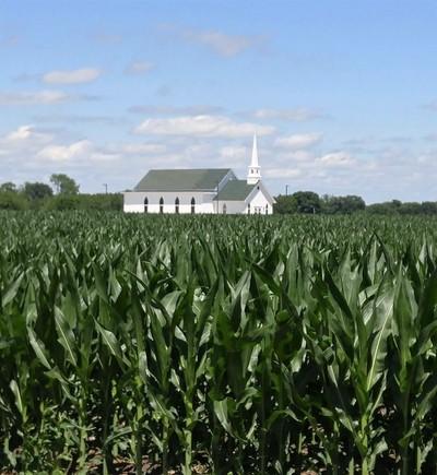 Church in the Corn
