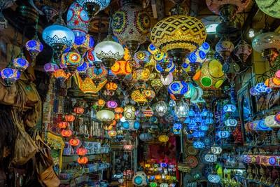 Hanging Lamps of Granada