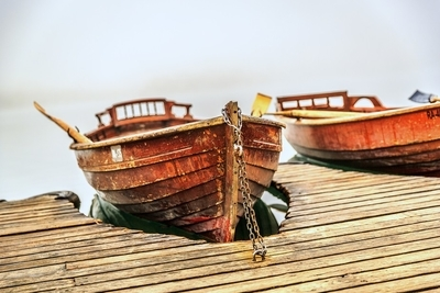 Red Chained Boat