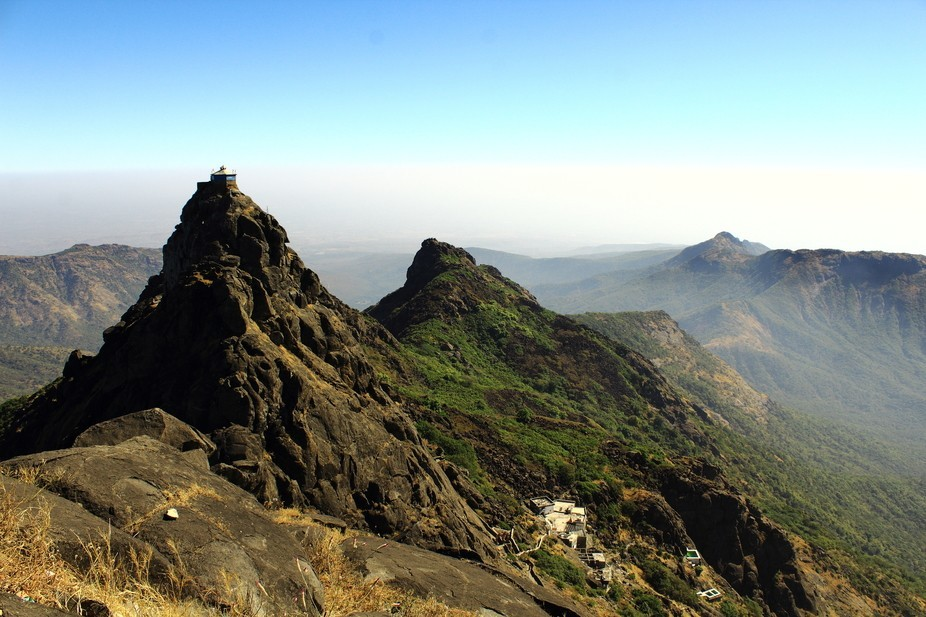 The picture was taken at Junagadh, Gujarat, India. It is the Girnar mountain. I have visited it w...