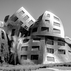 The Lou Ruvo Cleveland Clinic is a sight to see while visiting Las Vegas.