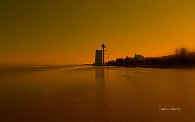 East Lisbon riverside
