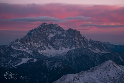 North West Face of Mount Civetta