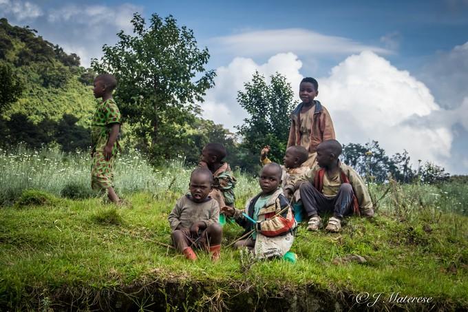 Rwanda's Children, Friendly and Curious.