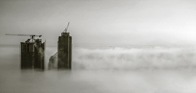 Fog off Lake Ontario (Part 2)
